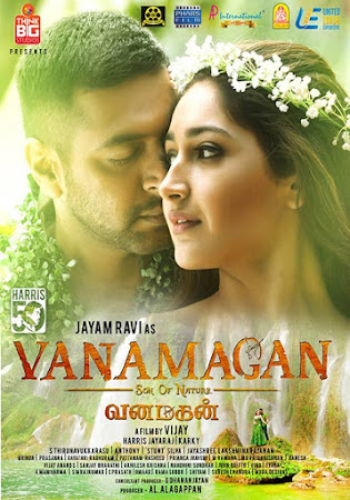Poster Of Free Download Vanamagan 2017 300MB Full Movie Hindi Dubbed 720P Bluray HD HEVC Small Size Pc Movie Only At worldfree4u.com
