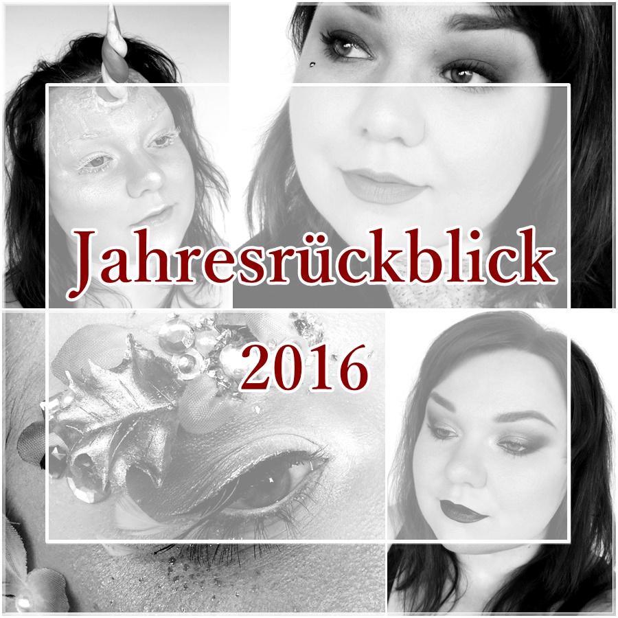 Jahresrückblick 2016 bei Beautybloggern