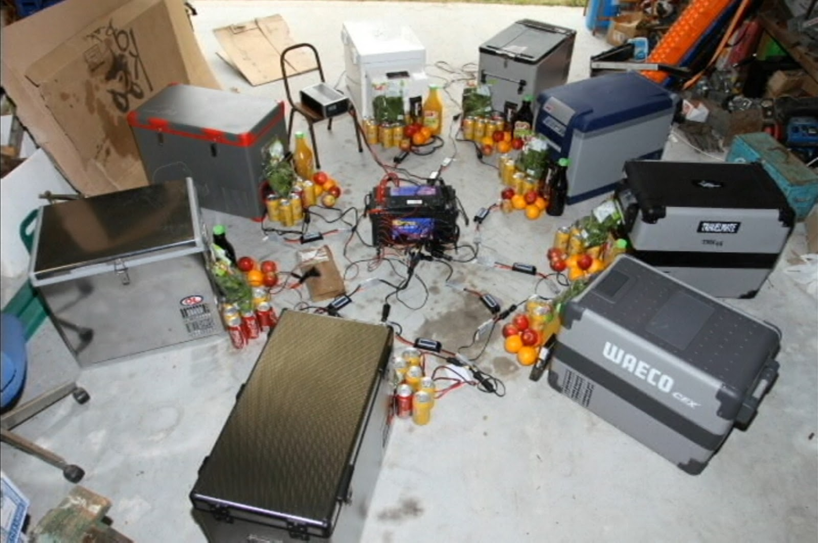 Which 12v compressor fridge is the best? My opinions and some data