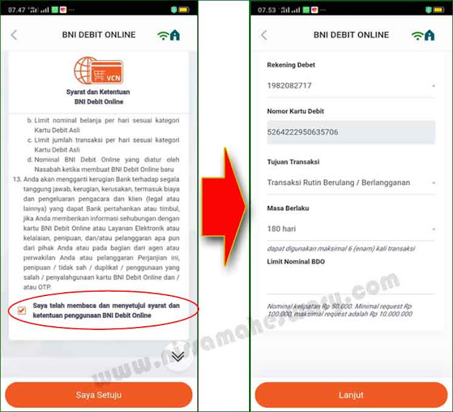 Cara Mendaftar, Mendapatkan atau Membeli Kartu Kredit Melalui Mobile Banking BNI Mudah Sekali.