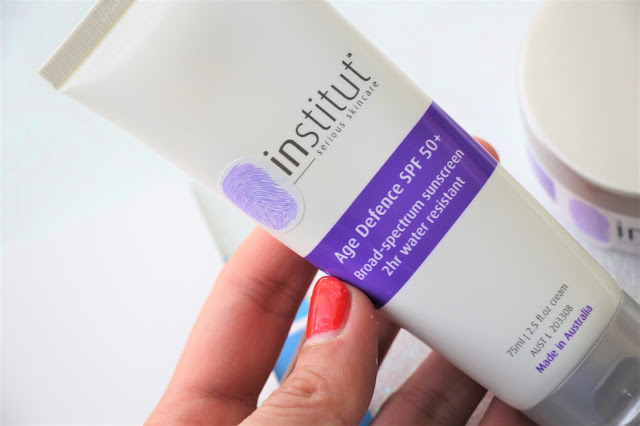 Institut Age defence sunscreen review