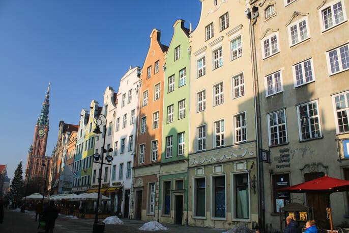 Gdansk main town