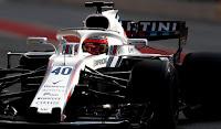 Robert Kubica Hiszpania testy Barcelona F1 Williams