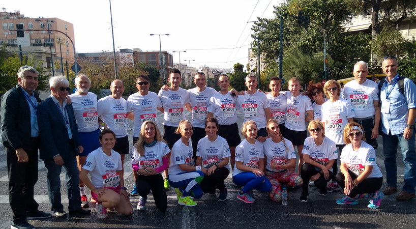 Μοναδική εμπειρία έζησε η ομάδα του Run Greece Αλεξανδρούπολης στο τελικό του Run Greece στην Αθήνα