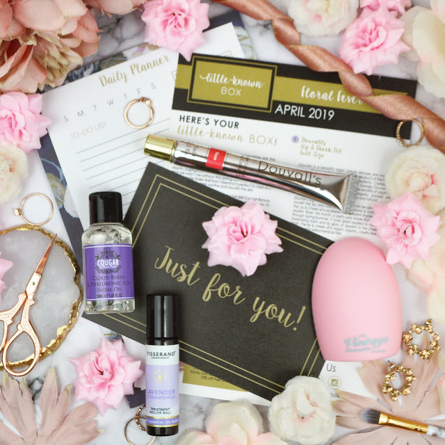 Little Known Box Floral Fever April 2019 Edit Review & Unboxing, Lovelaughslipstick Blog