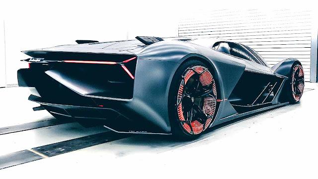 The Lamborgini Terzo Millennio Is Electric Supercar For The Future