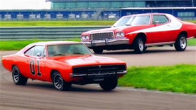 General Lee vs Ford Gran Torino