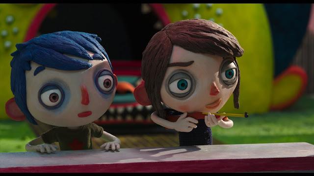 Fotograma de la pelicula de animación de stopmotion Claude Barras My Life as a Courgette Mi vida de calabacín