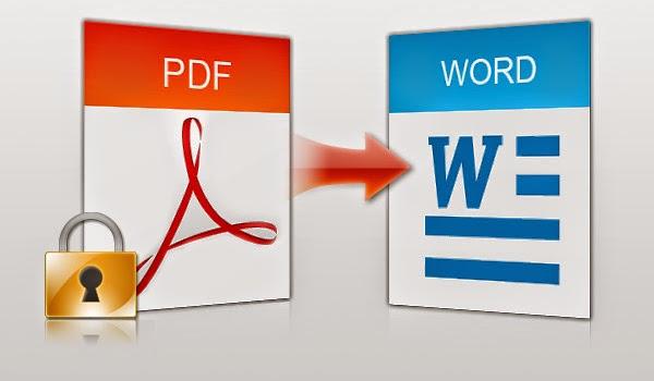 شرح تحويل ملف PDF الى ملف WORD بدون برامج