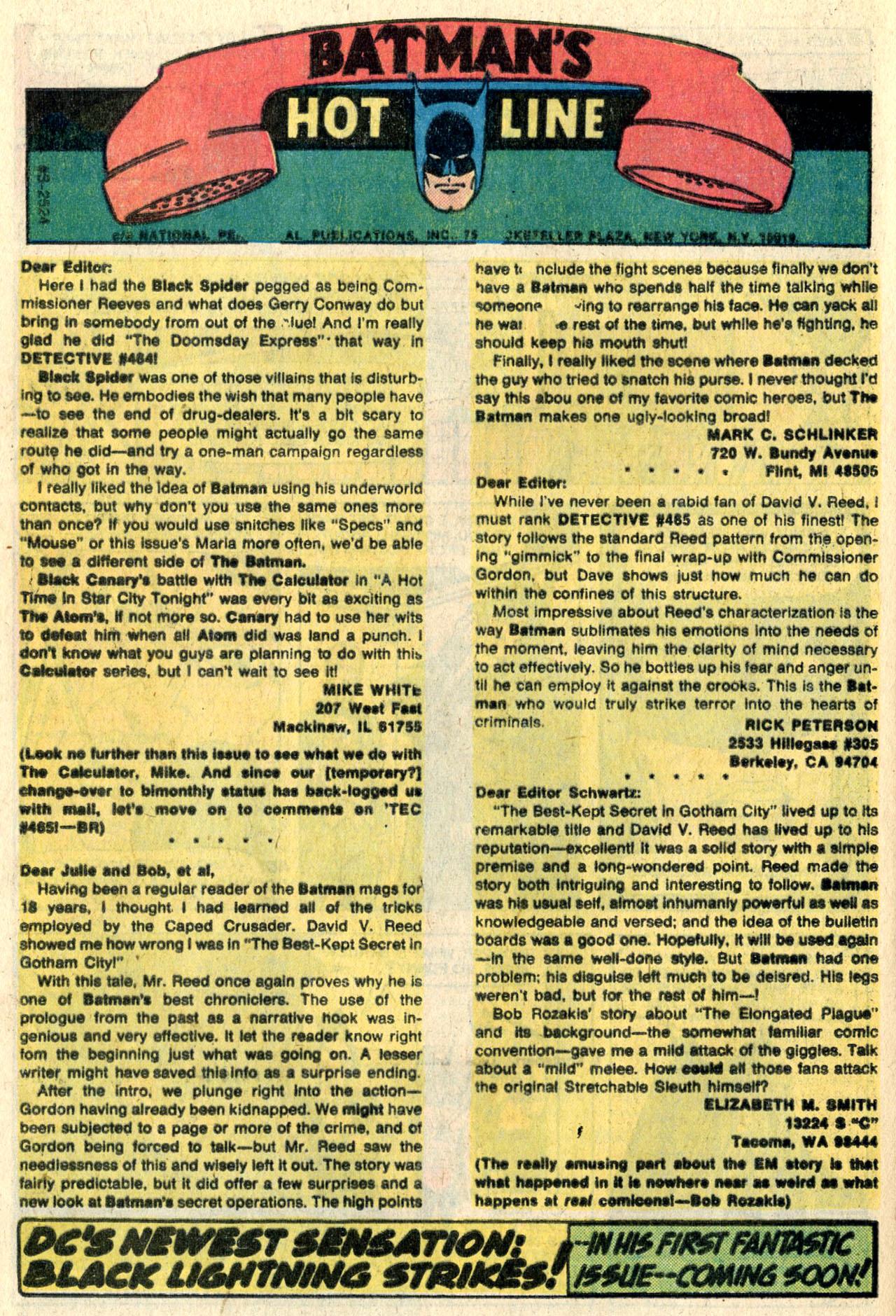 Detective Comics (1937) 468 Page 31