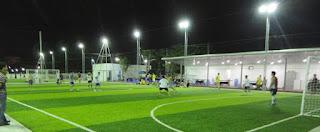 Ở những nơi có mặt bằng làm sân nhỏ nên chọn thi công sân bóng mini 5 người