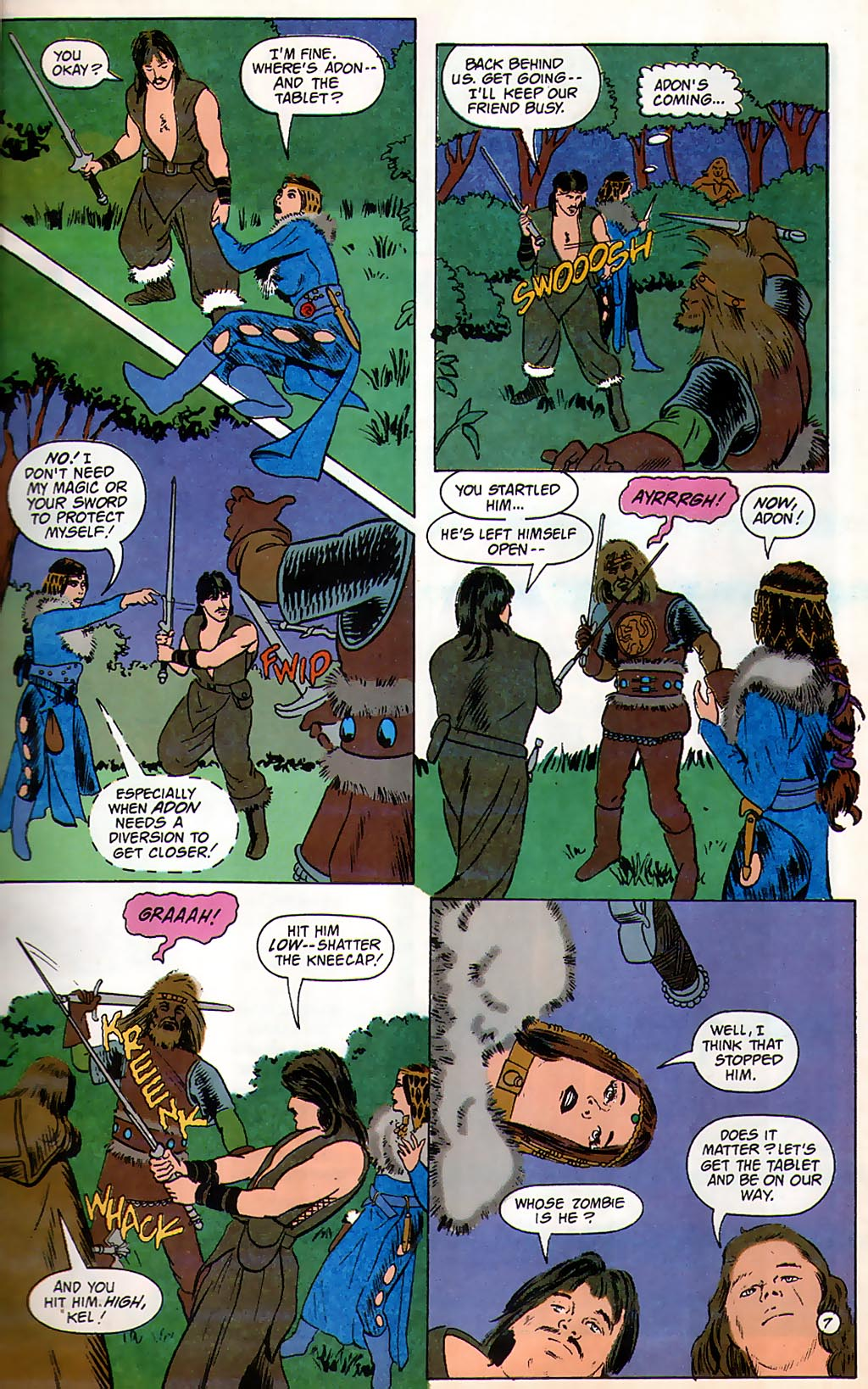Read online Avatar comic -  Issue #3 - 9