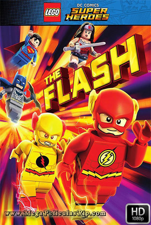 Lego DC Comics Super Heroes Flash 1080p Latino