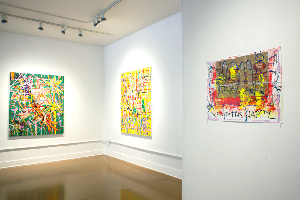 Nick Waplington shows paintings at These Days / fashion news via www.fashionedbylove.co.uk