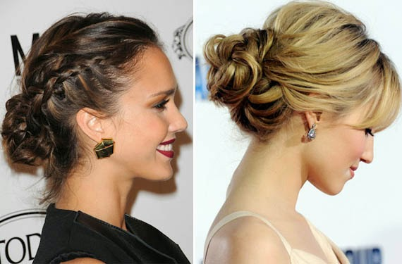 Peinados Recogidos Informales Peinados Novias Trenza Con Corona De - Peinados-informales-con-trenzas