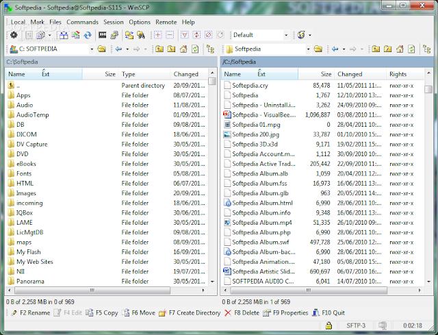 تحميل اقوى برامج الاف تي بي مجانا بورتبل - نسخة محمولة Portable WinSCP 5.7.7