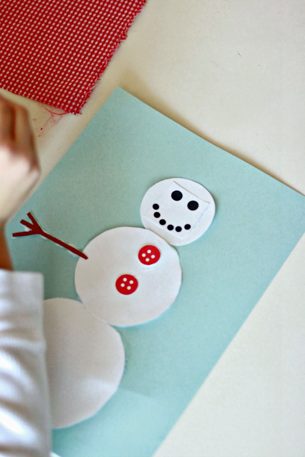 Larissa Another Day Build A Snowman Activity Printable