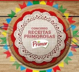 Cadastrar Promoção Primor São João 2018 Receitas Primorosas