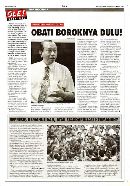 LIGA INDONESIA ISMANGOEN NOTOSAPOETRO