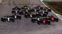 Start Grand Prix Wielkiej Brytanii 2018