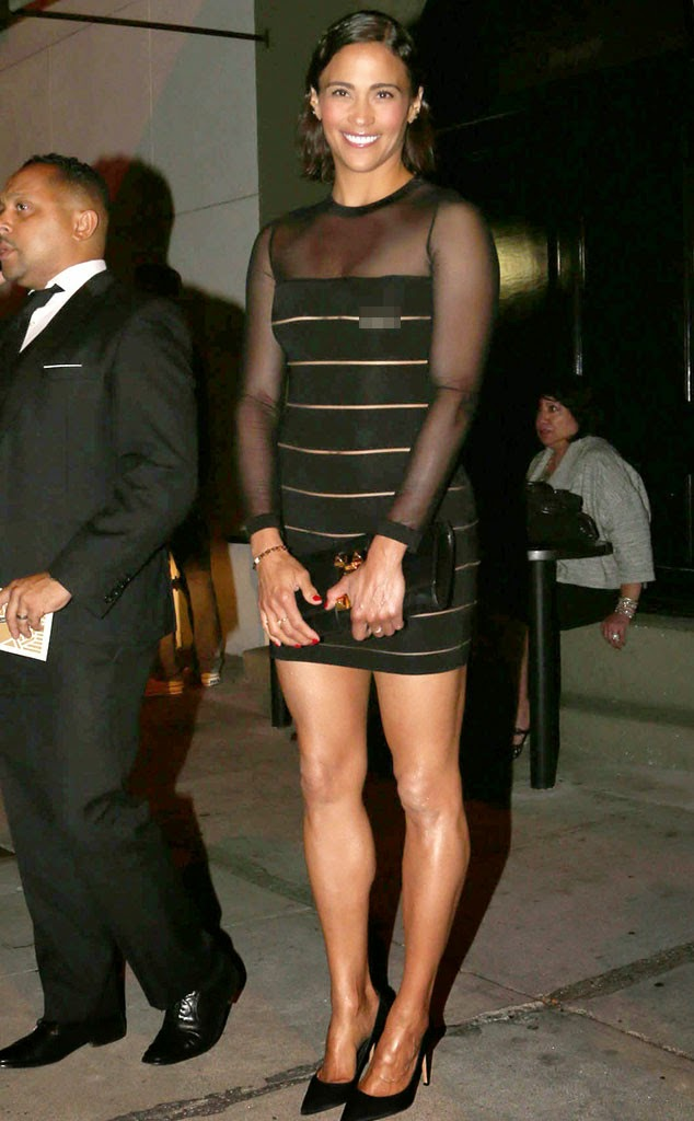 Welcome To Damwizs Blog Robin Thickes Wife Paula Patton Flashes Her Nipples In Sheer Dress At -9727