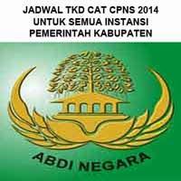 Gambar untuk Jadwal Ujian Tes Kompetensi Dasar (TKD) CAT CPNS 2014 Kabupaten
