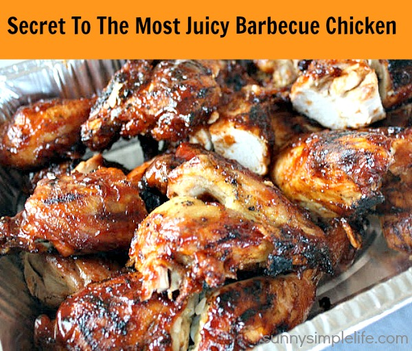 barbecue chicken, frugal meals, scratch cooking