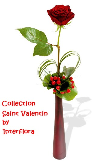 fleuriste isabelle feuvrier collection saint valentin by interflora. Black Bedroom Furniture Sets. Home Design Ideas
