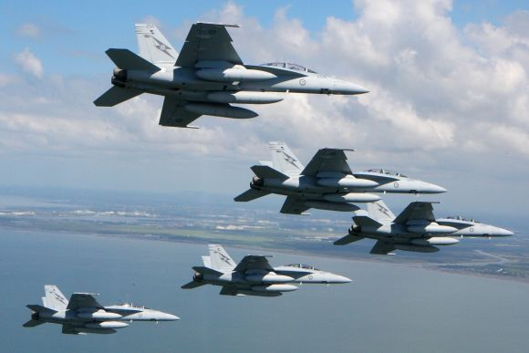 F/A 18 Super Hornet RAAF