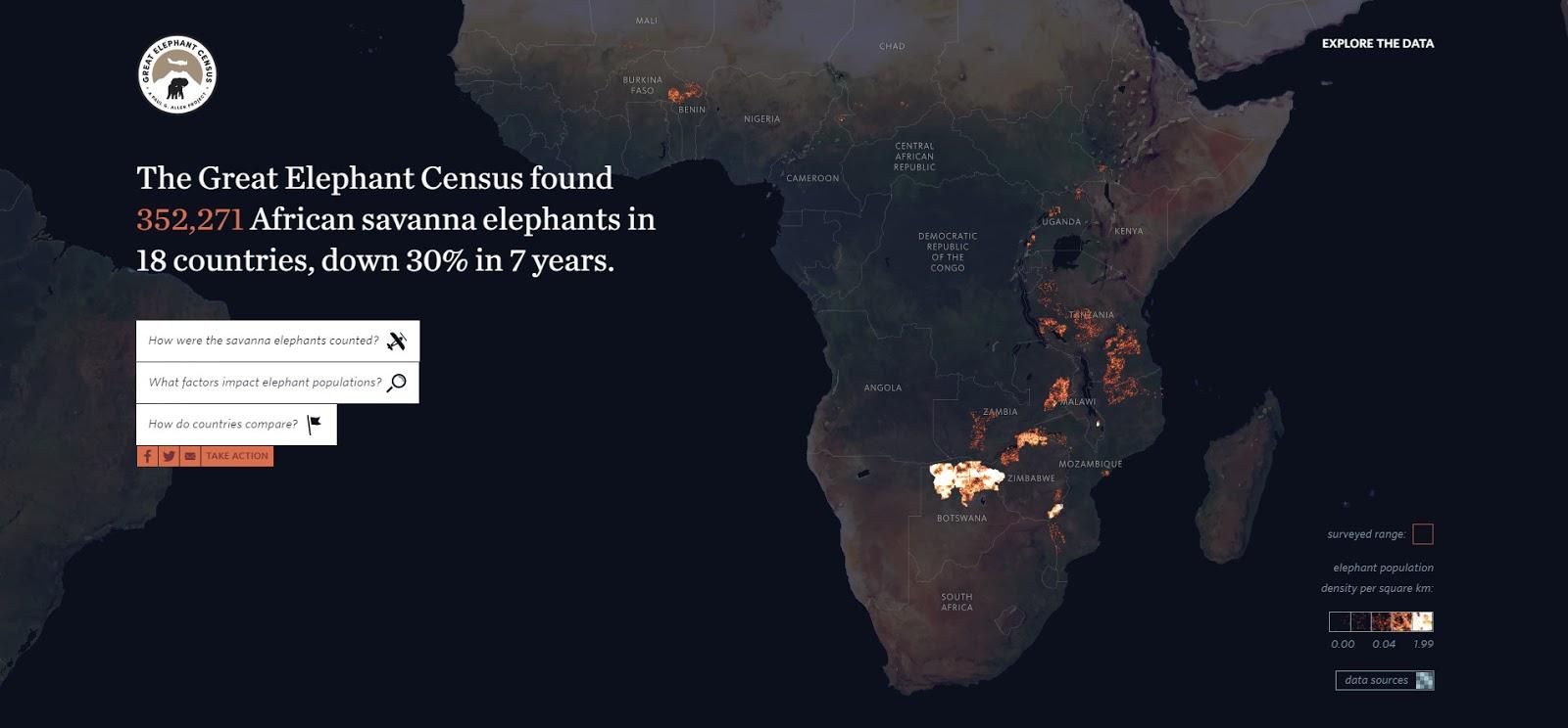 The African Elephant Atlas