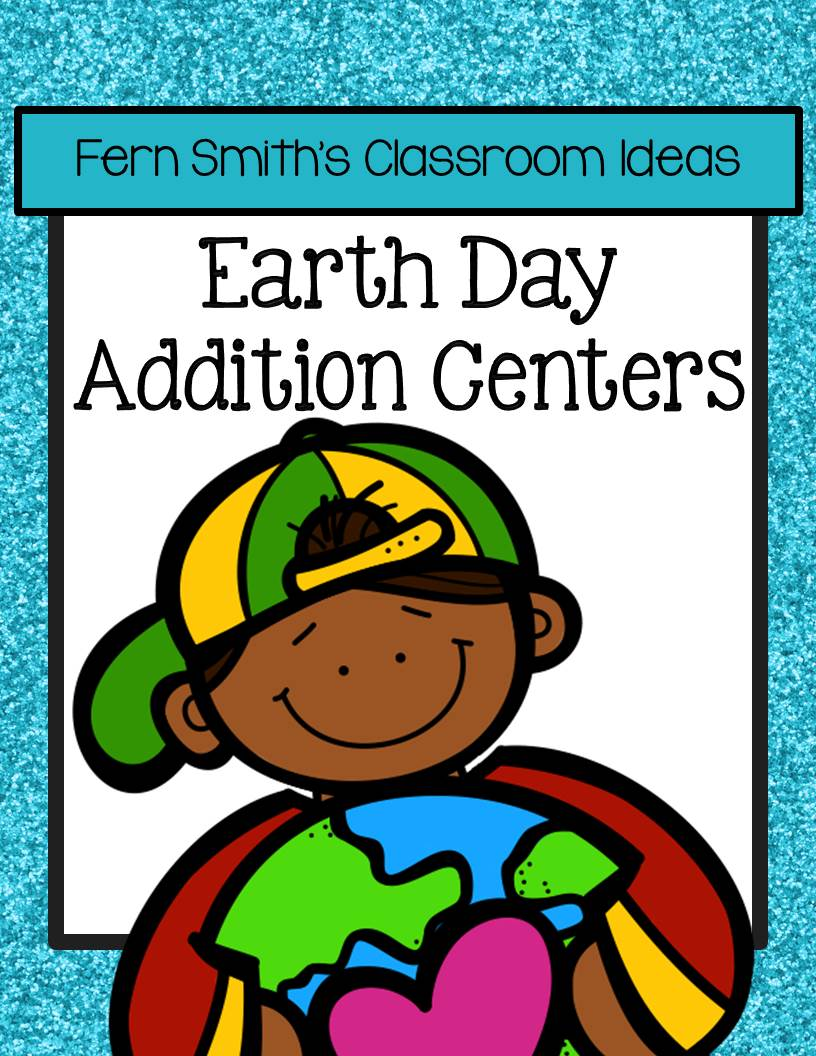 Earth Day - Addition Center Games