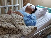 Foto-foto Novanto Pasca Kecelakaan, Kepala Diperban, Tangan Diinfus