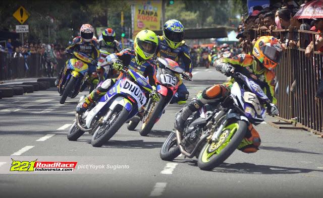 Hasil SAGM Road Race Blitar 2017, Kelas 2 Tak Peserta Berlimpah, 4 Tak Hilang Gairah
