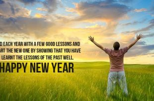 Inspirational Sayings On Happy New Year's Day