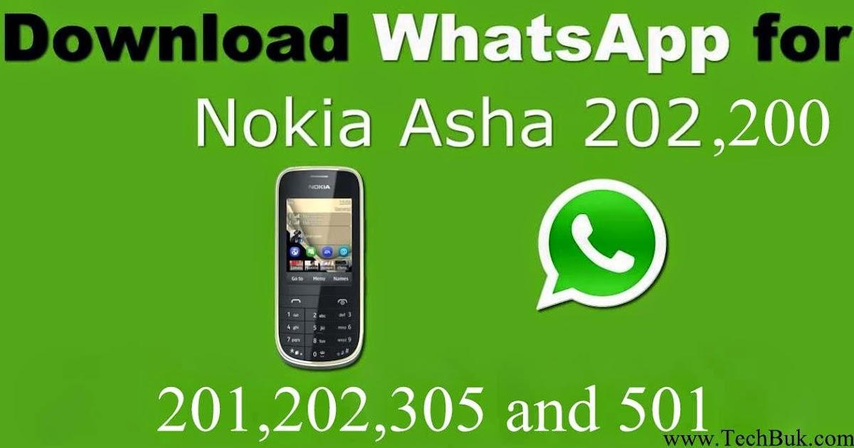 whatsapp para nokia asha 202 gratis