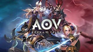 Aov juga salah satu game terbaik android di kategori moba
