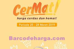 Katalog Promo Toserba Yogya Weekday Terbaru 25 - 28 Maret 2019