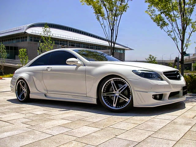 mercedes cl 550 custom