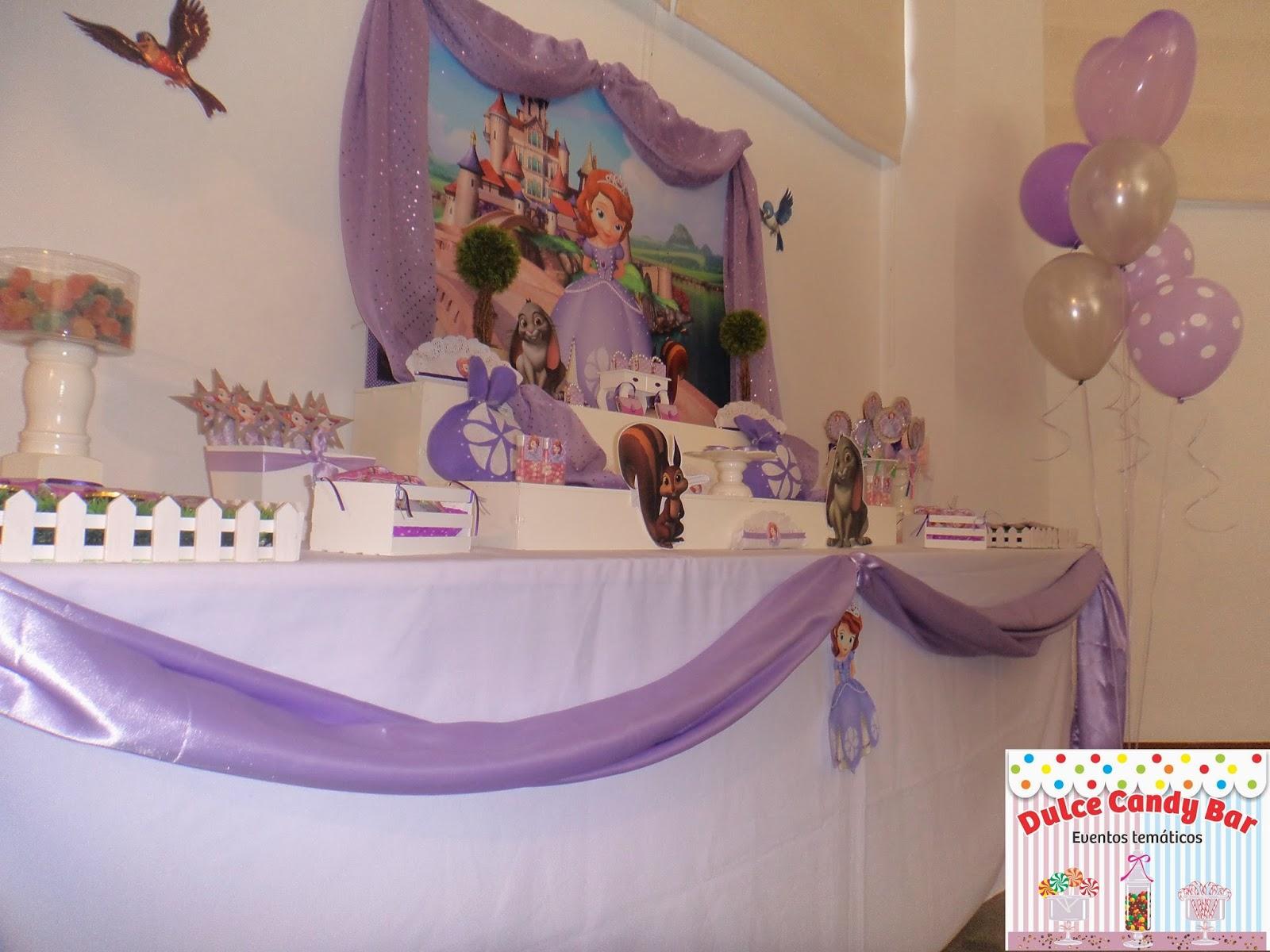 Dulce Candy Bar  Eventos Temticos Candy Princesita Sofa