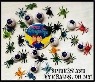 Making Bingo more fun at Halloween! Tips from Looks Like Language!