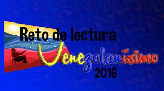 Reto de Lectura Venezolanisimo 2016