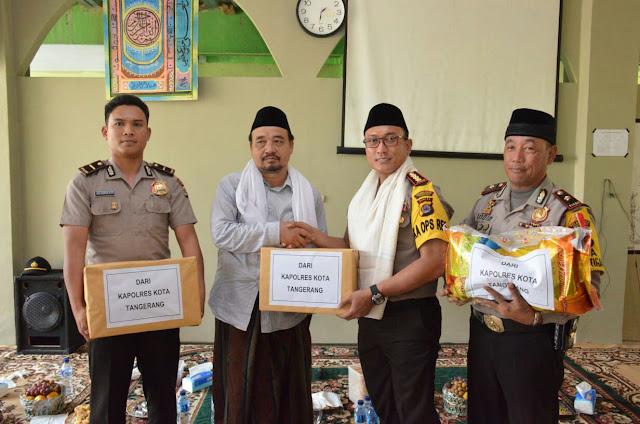 Kapolresta Tangerang Dialaog Interaktif Dengan Ratusan Santri Tentang Radikalisme