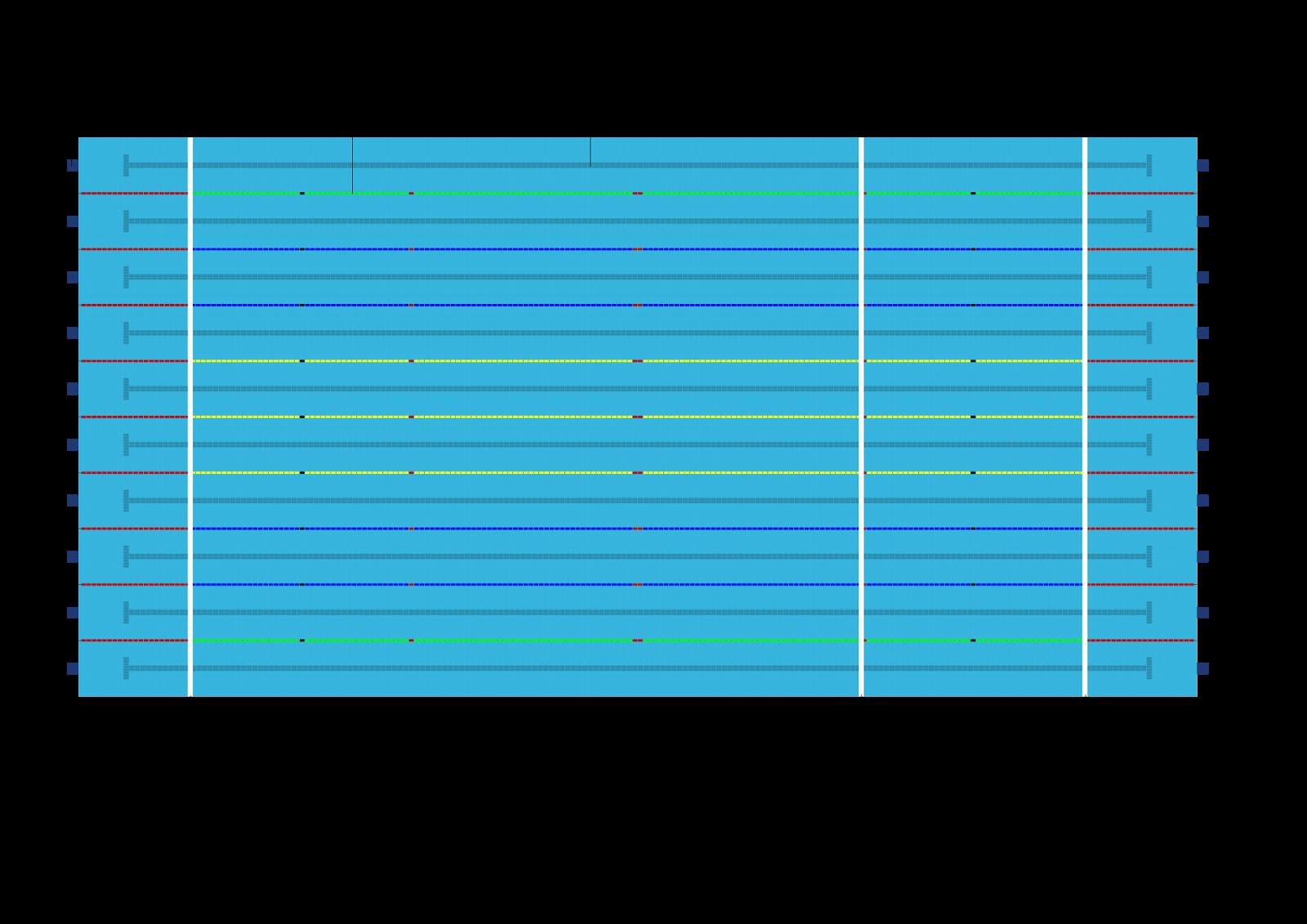 Ukuran Kolam Renang standar FINA (internasional)   ATURAN