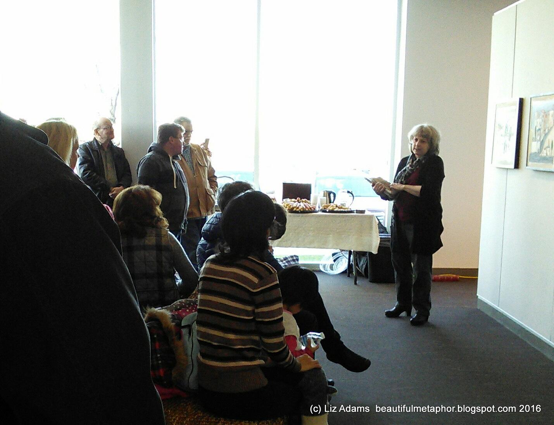 Art, the Beautiful Metaphor: Art reception at Plainsboro
