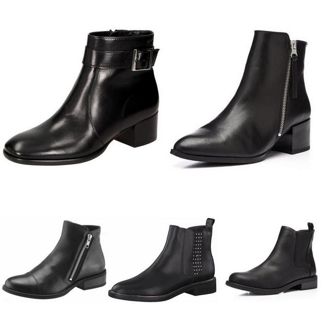 Leukste zwarte laarzen en enkellaarsjes biker boots buckle boots sock boots chelsea boots