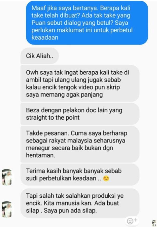 "Respon Faezah Lai Isu Skrip Drama ""Titian Cinta"" Dikritik Buat Haters Terdiam"