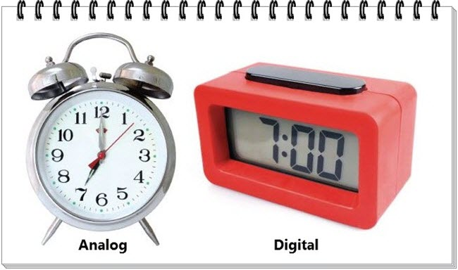 Analog dan Digiital