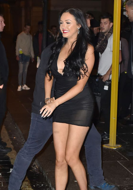 Sarah Goodhart – Geordie Shore Filming at TupTup Palace in Newcastle