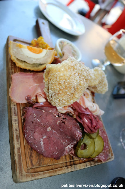 Meat Platter at The Albion, Neo Bankside | Petite Silver Vixen