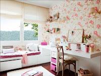 Tapeten Jugendzimmer Ideen Mädchen